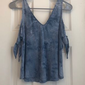 AE Soft and Sexy, Tie Dye Tank (blue)